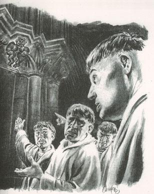 Une vision artistique du Baphomet ? Temple de Paris