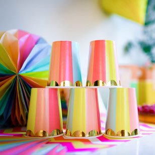 DECO BABY SHOWER MULTICOLORE- BABY SHOWER PARTY DECORATION