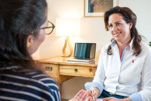 Behandlung durch Psychotherapie