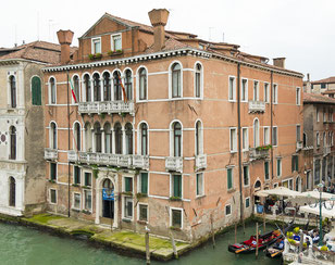 So oder ähnlich dürfte der Palast des Jean Thierry, des geheimnisvollen Vorfahren, in Venedig  ausgesehen haben.