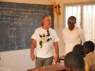 Mit Mr Roamba, dem Ausbilder der Mauerklasse