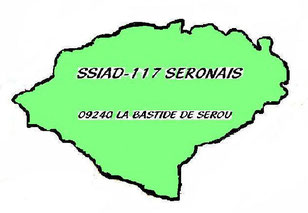 logo du SSIAD 117, 09240 La Bastide de Sérou