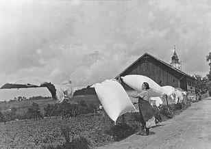 1935 (?) Franziska Pointner (?), Hebamme und Ehrenbürgerin