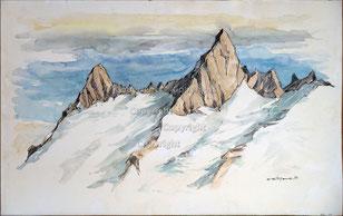 Nr. 3640 Bergspitzen