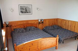 La chambre du Gîte De Giron à Giron dans l'Ain-Département de l'Ain