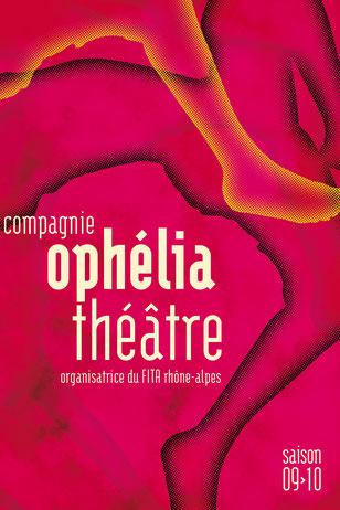 © Clara Chambon - Plaquette de saison 09/10 - Cie Ophélia Théâtre