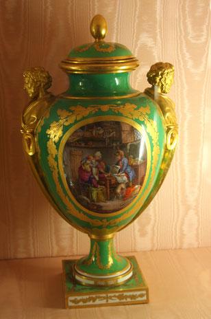 Bild: Vase von 1780 im Musée Ephrussi de Rothschild