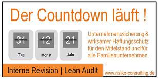 Risiko-Consulting: Interne Revision | Lean Audit im Mittelstand. Kleiner Aufwand - große Wirkung.