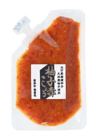 商品の柚子赤こしょうの写真