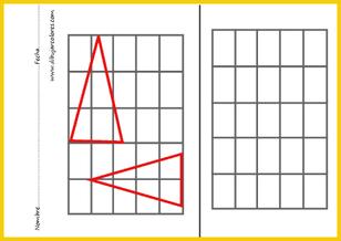 copiar exactos los triángulos