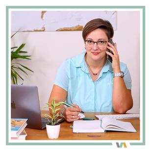 Virtuelle Assistenz Zusammenarbeit: Kommunikation per Handy oder Computer