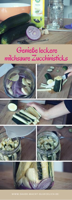 fermentiertes Zucchini Rezept