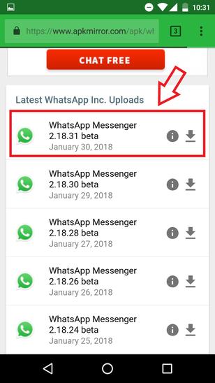 Descargar WhatsApp APK Mirror