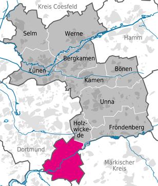 Meine Heimatstadt Schwerte im Kreis Unna
