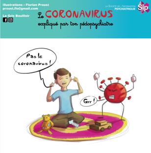 Image couverture BD enfant coronavirus