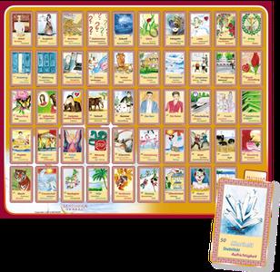 Zubehör Legevorlage mit Orakelkarten