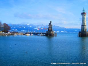 Le lac de Constance, le plus grand d´Allemagne, est une étape importante d´un voyage en Bavière.