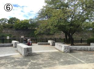 大阪城公園からBBQエリアへのアクセス⑥