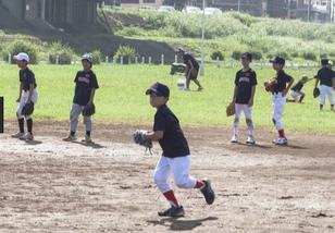 カナロコ 2019.8.16 長い練習や罵声伴う指導なし 注目集める少年野球チーム