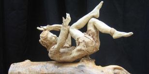 Galipette- grès patiné