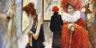 Exposition...à Venise-Diptyque 100*162