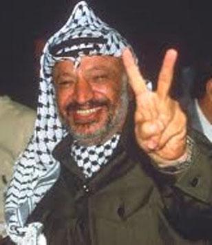 PLO leder Yasser Arafat (1929-2004)