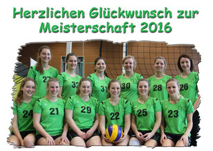 Volleyball Damen Meistermannschaft