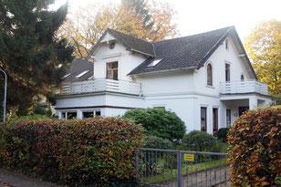 Der heute als Wohnhaus genutzte ehemalige Gasthof im November 2015