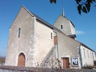 Eglise Saint Aignan à Nouan sur Loire