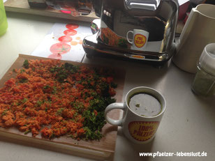 Saftpresse Omega Juicer Gemüsesaft, Obstsaft, Trester verwerten, weiterverarbeiten, Trockenofen, Dörrofen trocknen