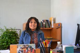 Maritza, actual directora de Biblioworks
