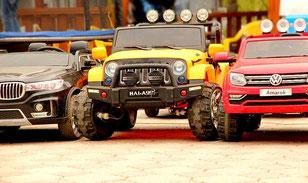 Kinder Elektroautos