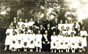 Fahnenweihe der Harmonie 1924