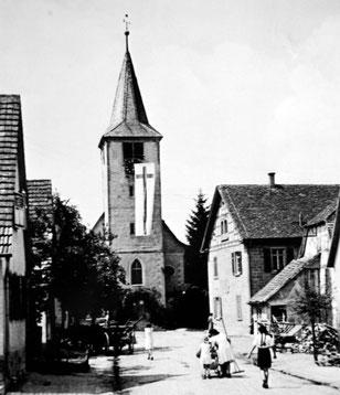 Waldenserkirche in Großvillars