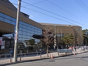 中村スポーツセンター入口付近の写真