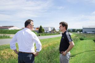 Jens Strebe und André Berghegger in Rabber