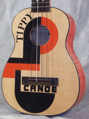 Tippy Canoe Concert Ukulele