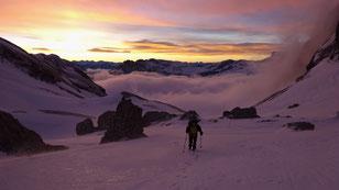 Grand Ferrand / Dévoluy / Guide de Haute Montagne / Guide aussois / Matthieu Brignon
