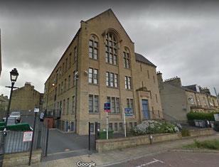 Conacher's factory in Water Street, Huddersfield