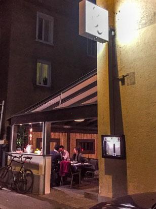 Restaurant Kokoro von aussen.