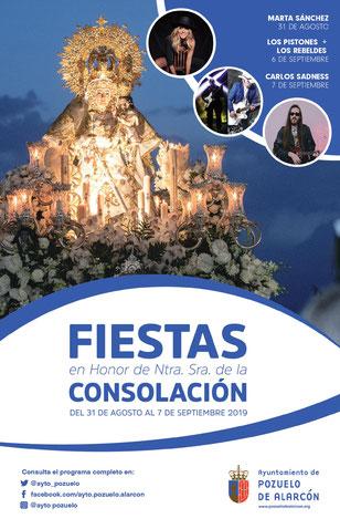Fiestas de Pozuelo de Alarcón 2016 Virgen de la Consolación