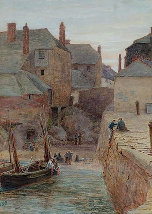 James George Bingley  'St Ives, Cornwall' (1875)