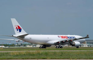 The cargo biz in a main revenue contributor. Pictured here is a A330F operated by MAS /  source: MAS