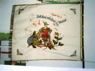 Vereinsfahne aus 1862