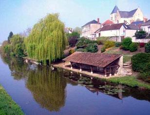 Le lavoir restauré de Chécy (Loiret)
