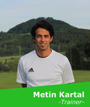 +++ Hat fast denselben Kader wie in der Vorwoche zur Verfügung: Chefcoach Metin Kartal +++