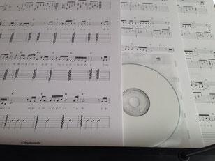 楽譜とデモ音源を納品