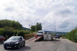 À Condé-en-Brie, le pont veillissant de la déchèterie devrait être remplacé.