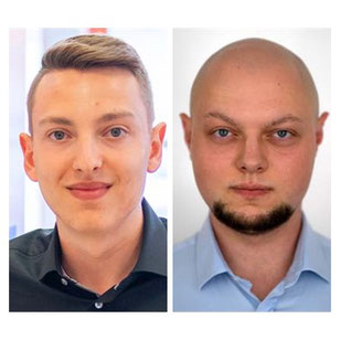Tim Effenberger und Tobias Kosiba