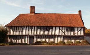 Ida Graves' Weberhaus in Stratford St. Mary / Suffolk